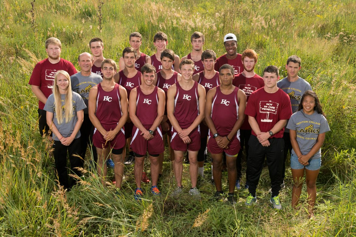 2016 Hesston College men's cross country team