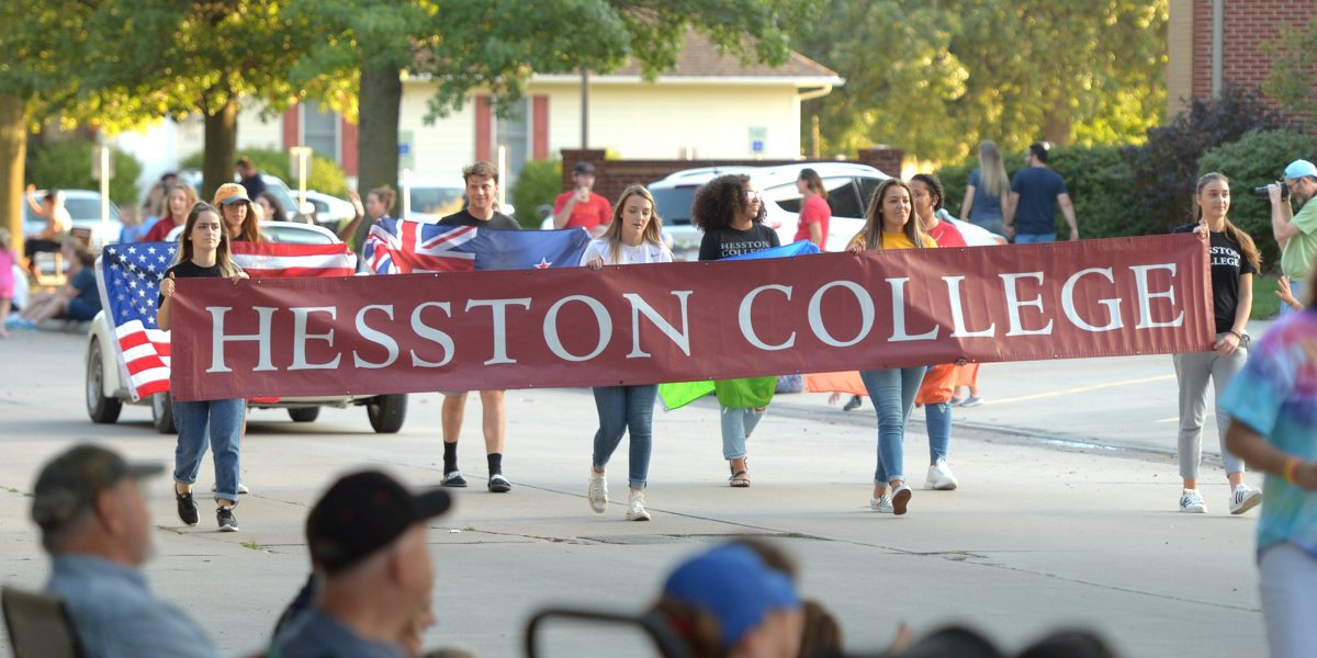 2019 Hesston Homecoming parade