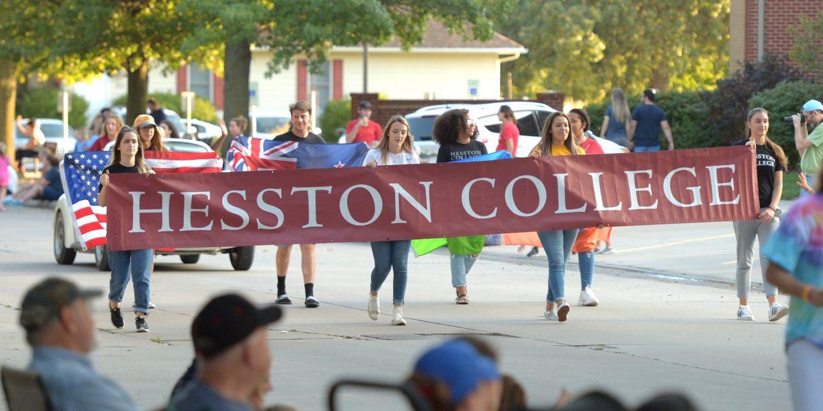 2019 Hesston Homecoming parade