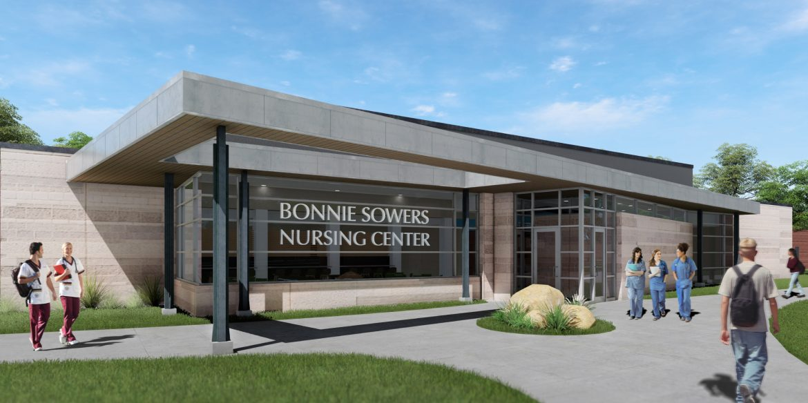 Bonnie Sowers Nursing Center - architect's rendering