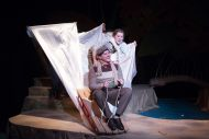 Photo from Hesston College production of A Year with Frog and Toad