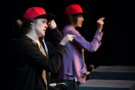 photo from Hesston College production of Working