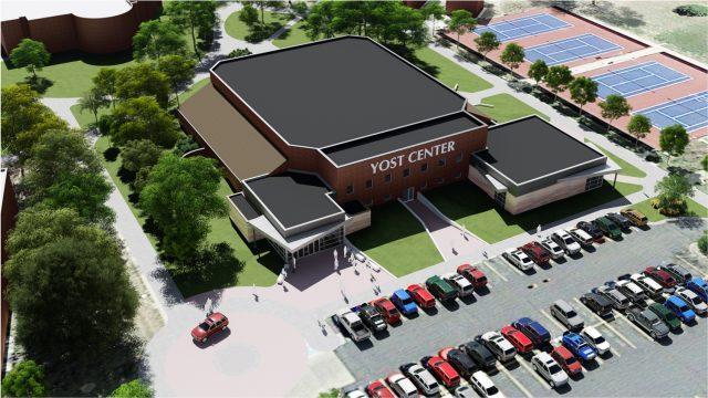 Yost Center renovation - rendering by Shelden Architecture
