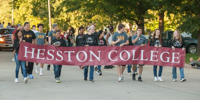 2016 Hesston homecoming parade