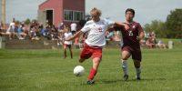 mens-soccer stock image