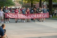 Hesston Homecoming parade