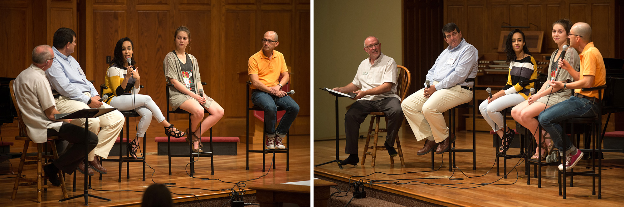 A panel of HC alumni and friends shares how their lives have been enriched by friendships that span religions.