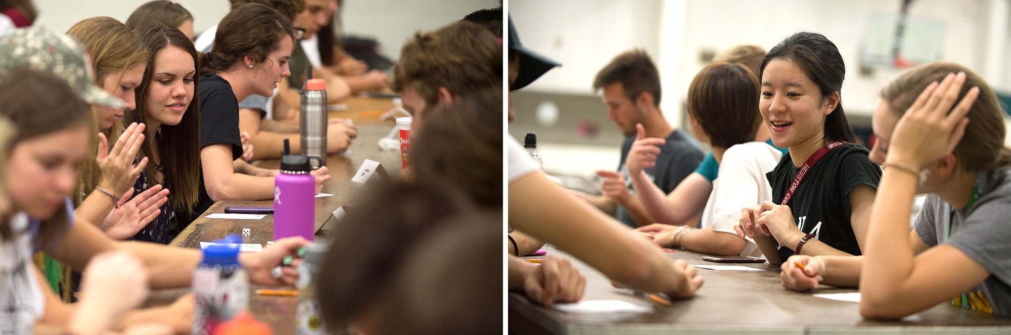 Campus Activities Board sponsored a Bunco game night for students and young alumni during Homecoming Weekend.