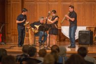 Terra Plaina performs at Saturday's International Music Concert.