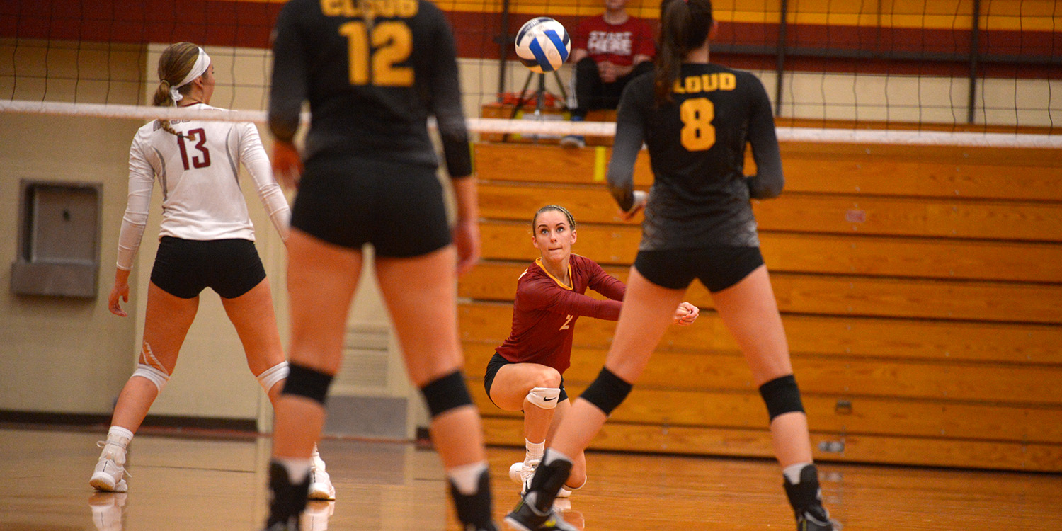 Lark volleyball defeats Falcons and Bluejays