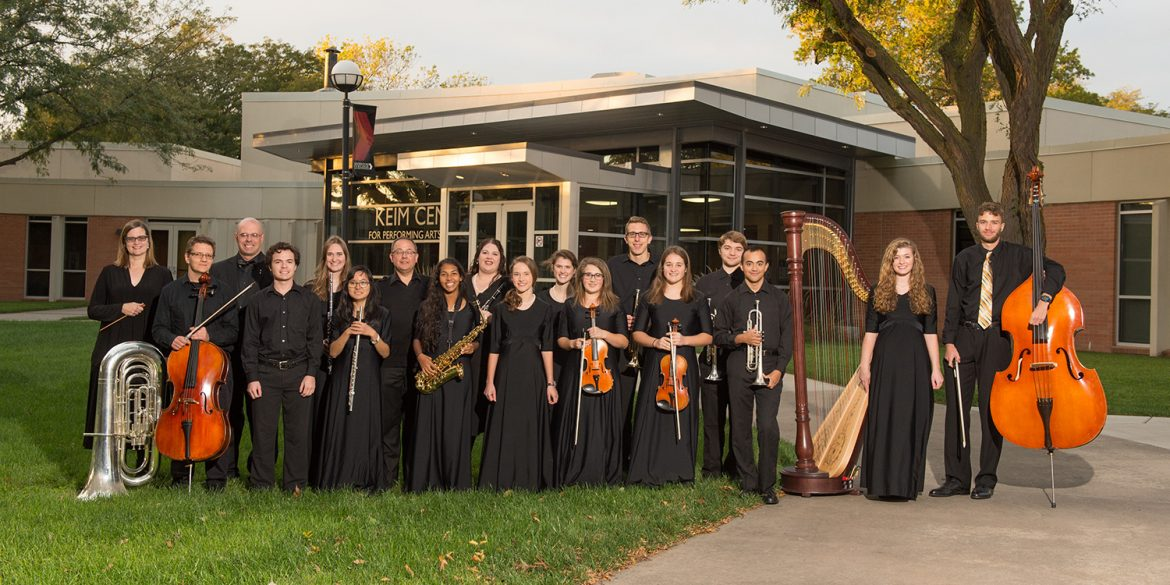 2017-18 Hesston College Chamber Orchestra