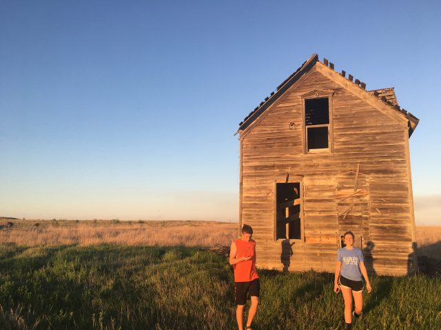Visit Coronado Heights. Check. Silas Driver '17 and Christy Kauffman '17 see historic sites at the alleged location near Lindsborg, Kan., where Francisco Vásquez Coronado gave up his search for the seven cities of gold and turned around to return to Mexico.