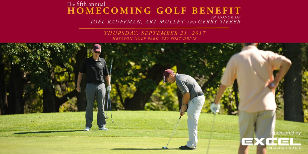 5th annual Hesston College Homecoming Golf Benefit