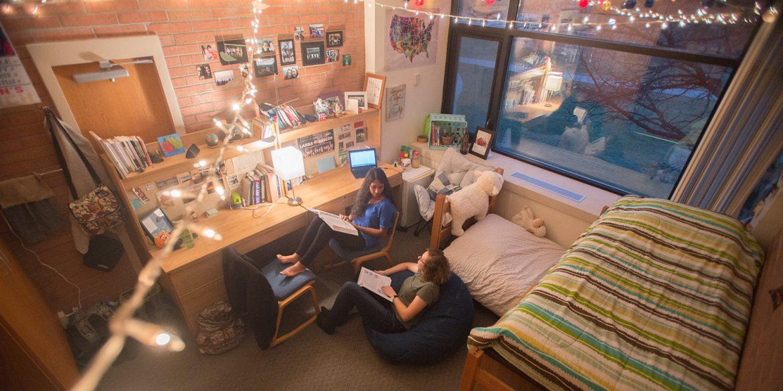 Hesston College dorm room photo