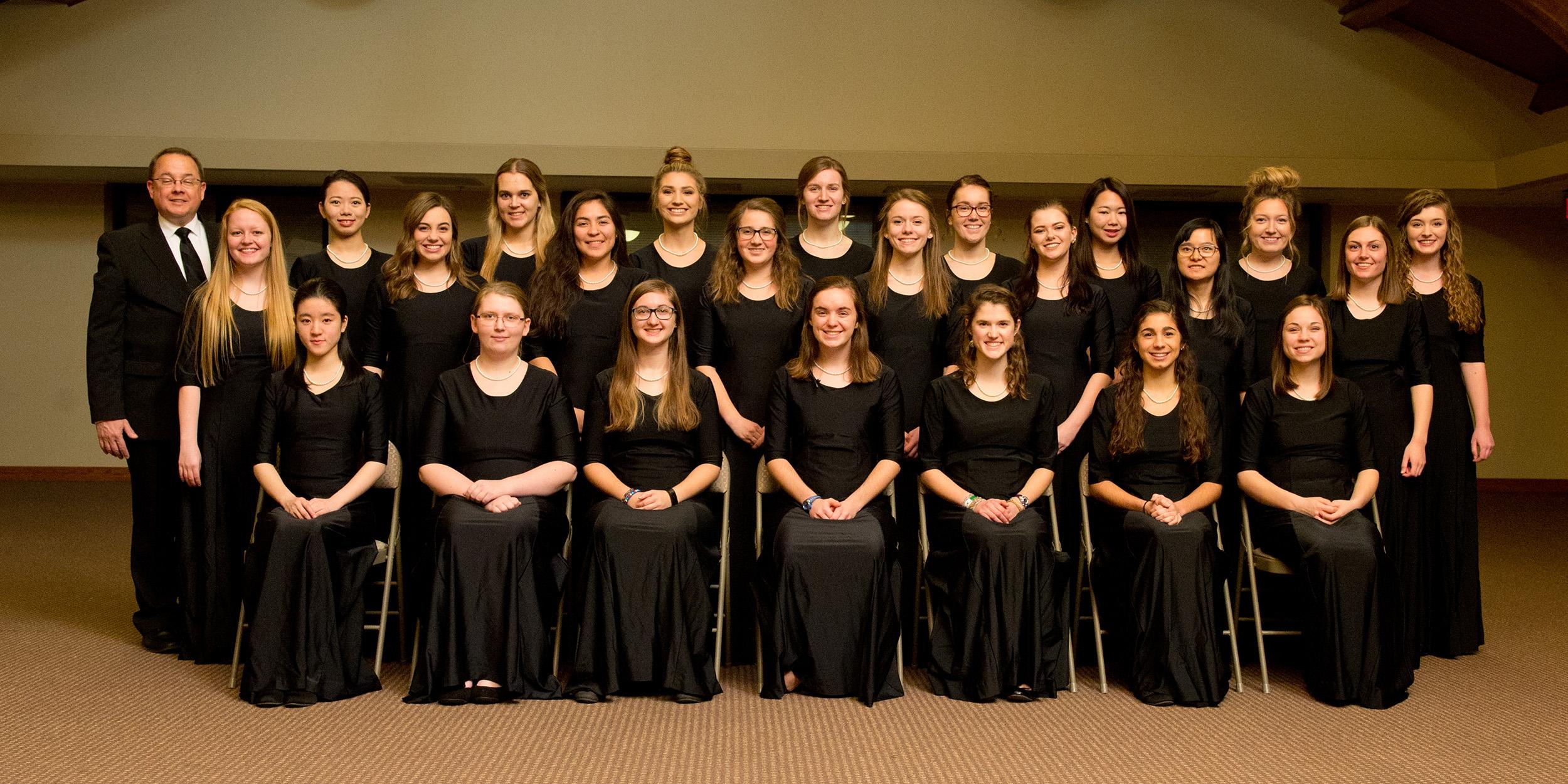 2017-18 Hesston College Women's Chorus