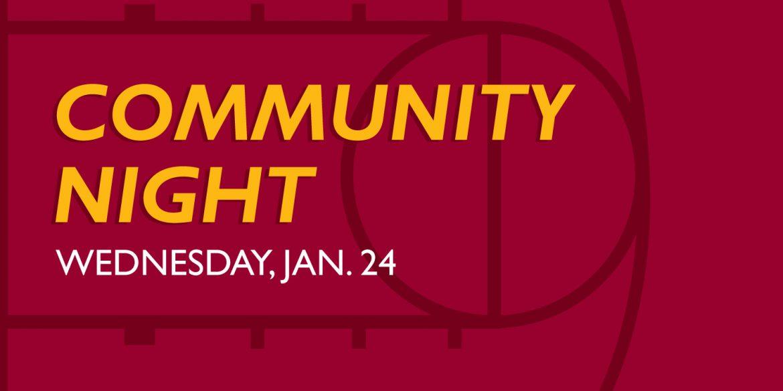 Hesston College Community Night, Jan. 24