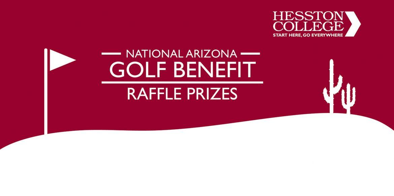 national golf benefit raffle prizes