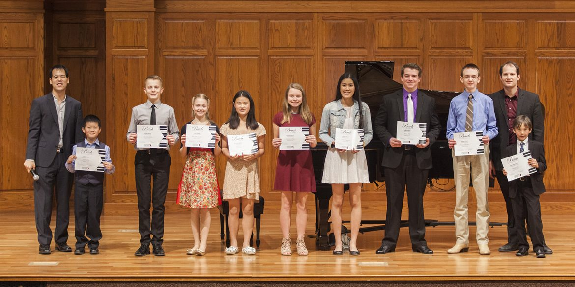 Bach Festival contest winners