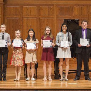 Bach Festival contest winners