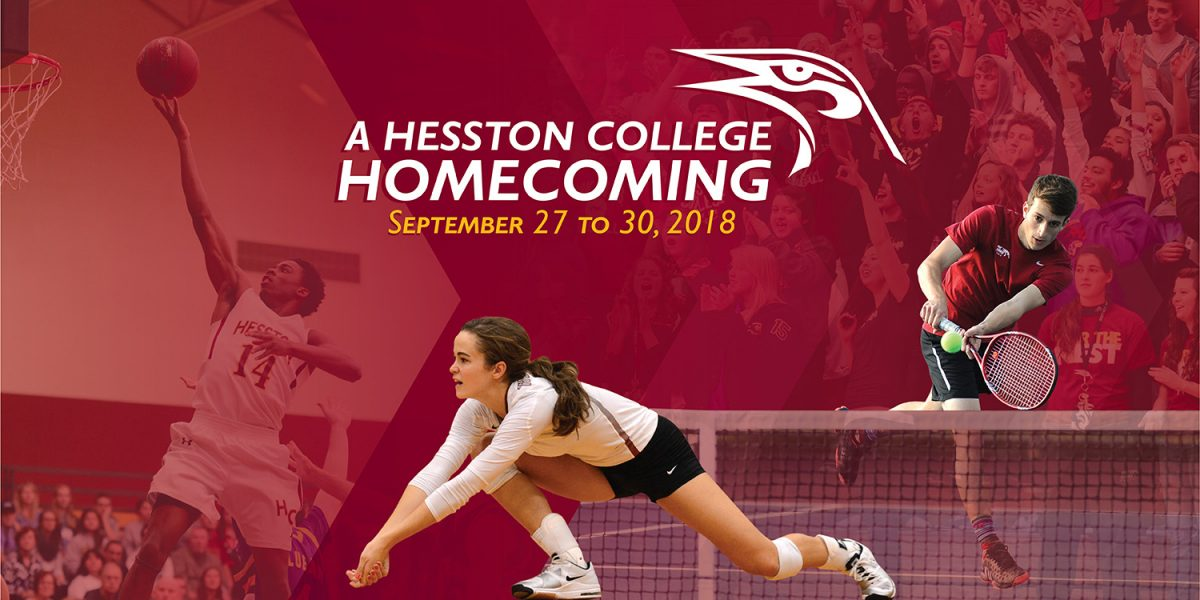 Hesston College Homecoming 2018 promotional image