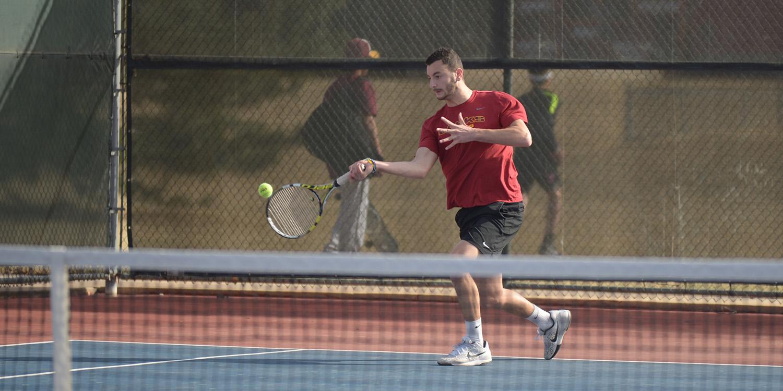 Tennis teams defeat Sterling