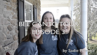 2018 Bel Canto spring break tour video by Sadie Prowell - episode 3