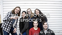 2018 Bel Canto spring break tour video by Sadie Prowell - episode 5
