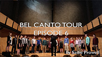 2018 Bel Canto spring break tour video by Sadie Prowell - episode 6