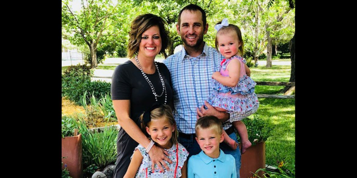 Stephanie and Justin Yoder family