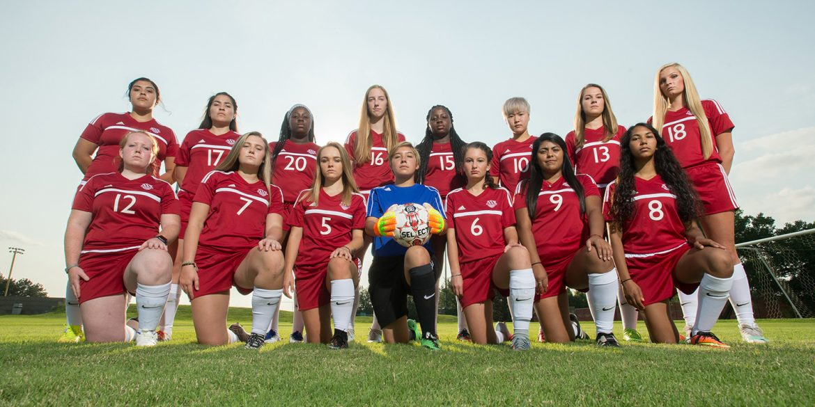 Hesston College women's soccer team