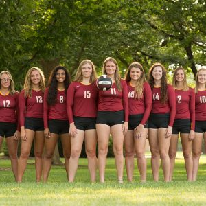 2018 Hesston College volleyball team