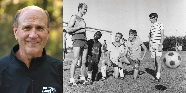 Hesston College coach Gerry Sieber
