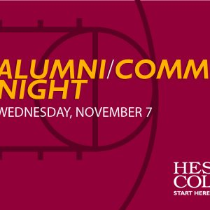 Alumni/Community Basketball Night 2018-19