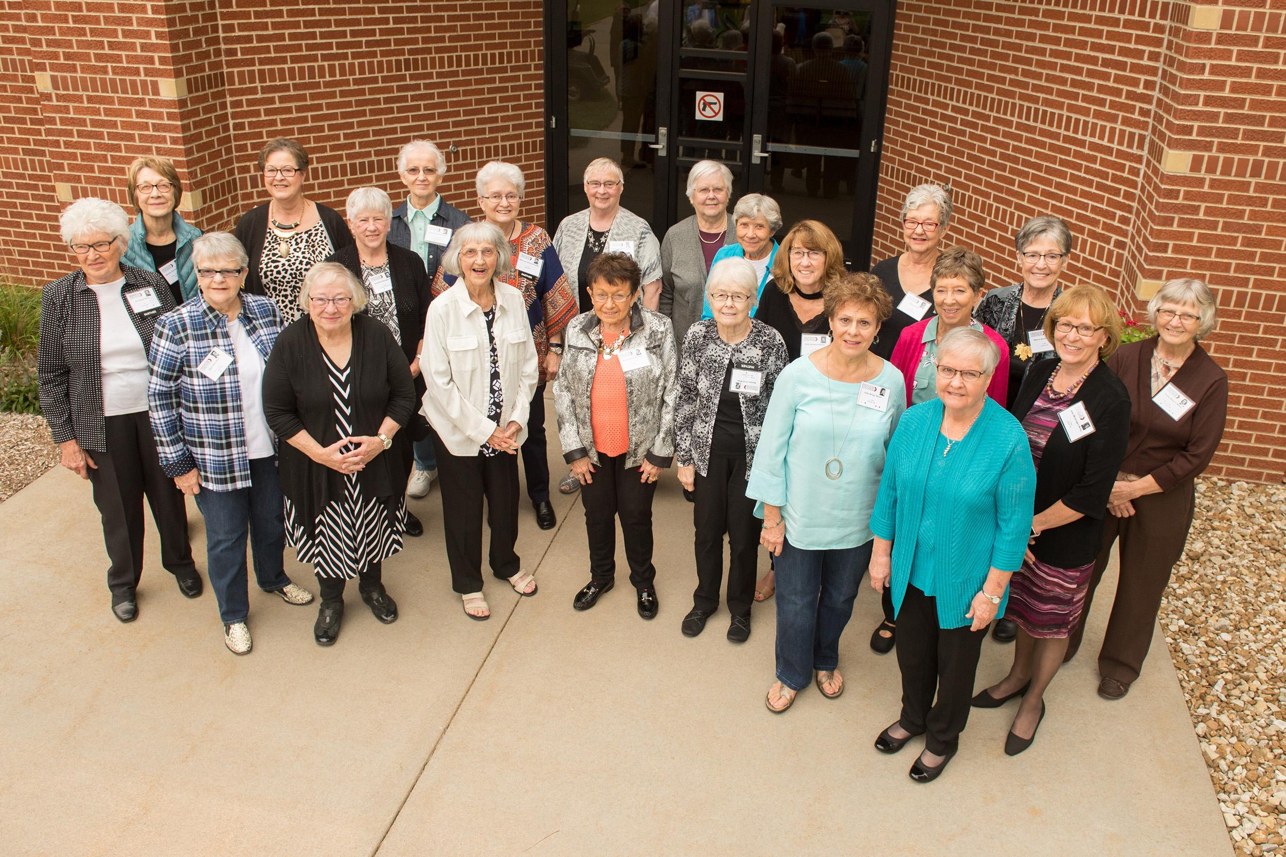 Hesston College - Kansas City General Hospital nursing graduates gather for a photo