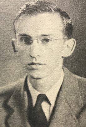 Oswald as a student