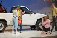 photo from the Hesston College production of Hands on a Hardbody, spring 2018