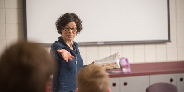 Bible and Ministry professor Michele Hershberger will lead a Spring 2019 class, Missional Leadership, in which community members are invited to participate alongside college students.