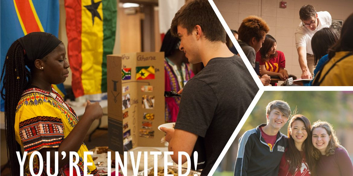 Hesston College international preview day invitation