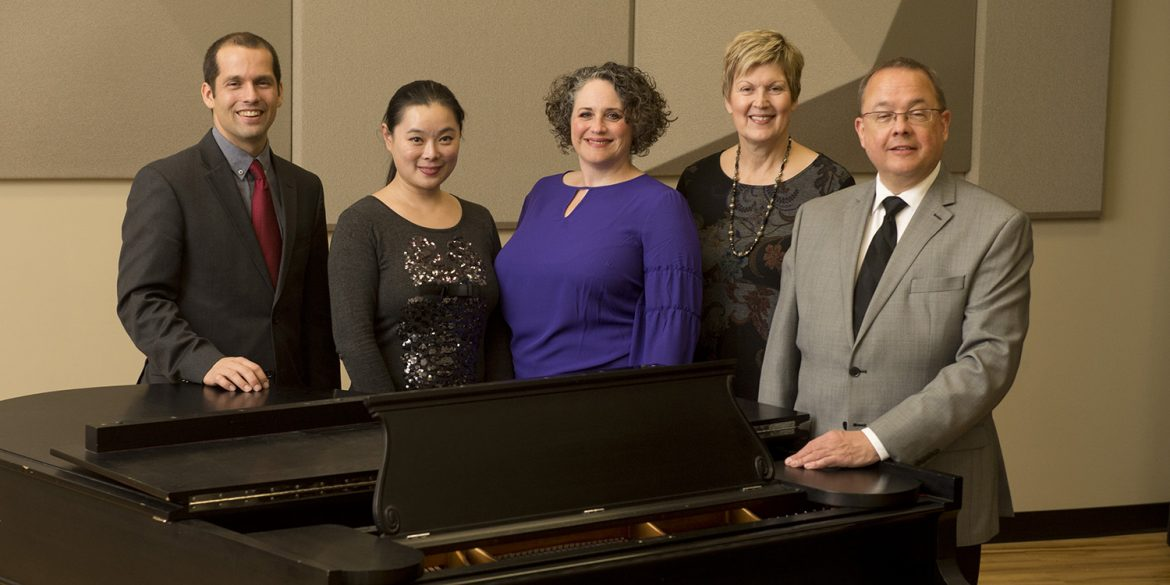 Hesston College music faculty