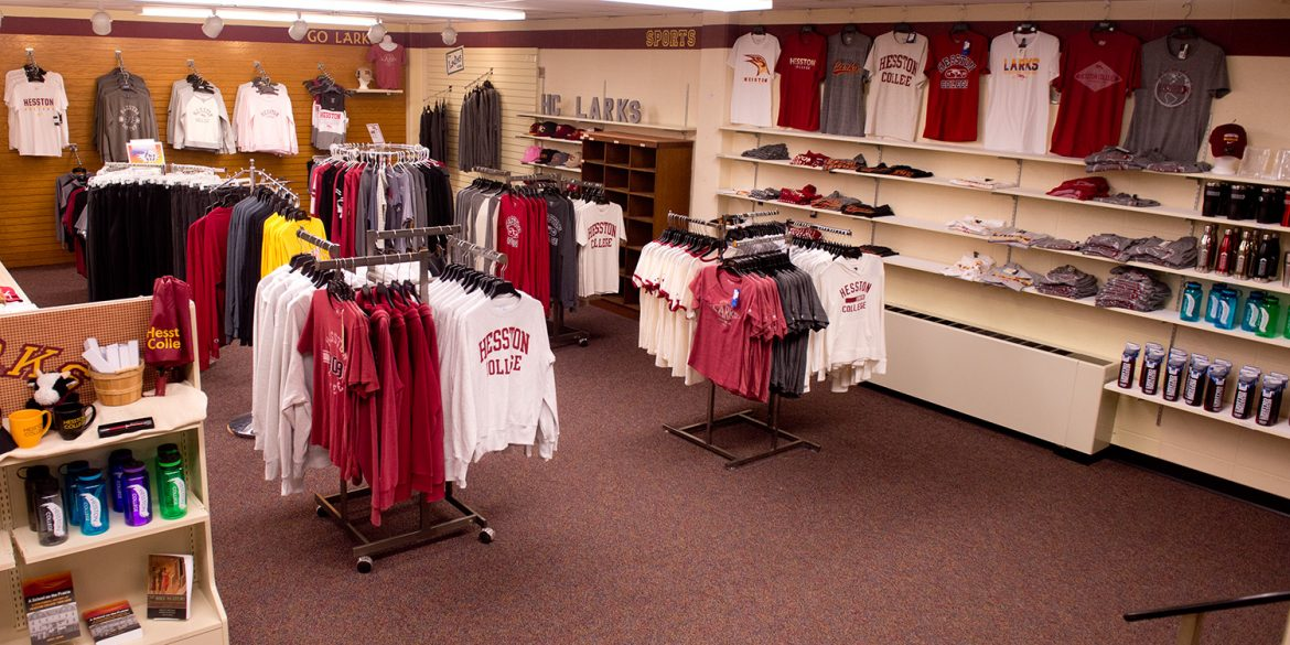 Hesston College bookstore