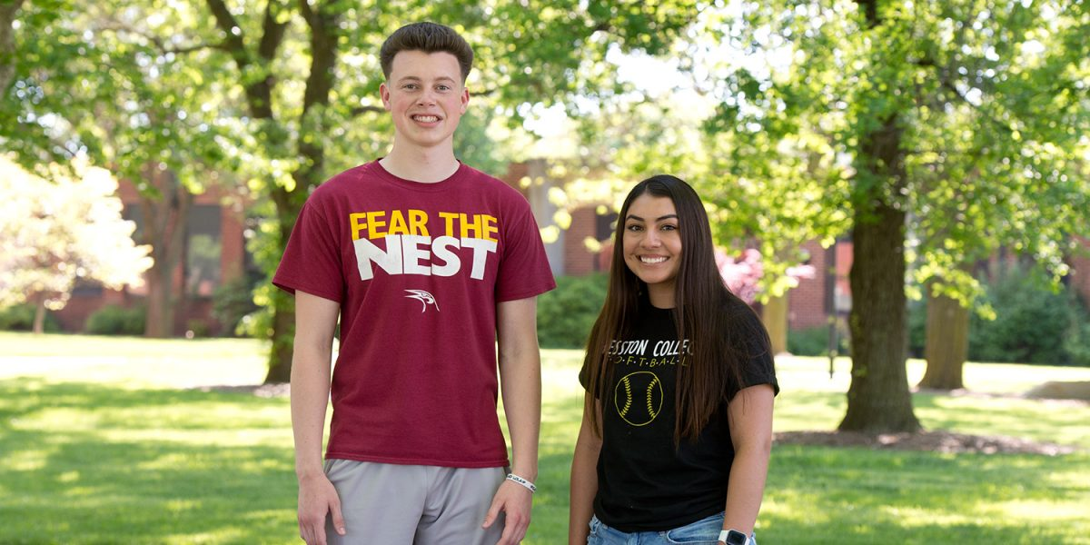 Lark Athletes of the Year 2018-19 - Cal Hartley and Lexi Avalos