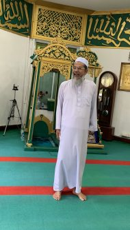 The Imam of the oldest mosque in Bangkok