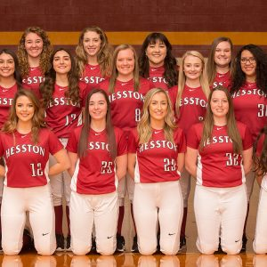 2019 Hesston College softball team