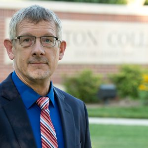 Del Hershberger, Vice President of Admissions
