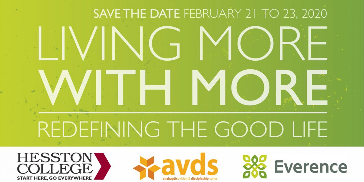 Living More with More - AVDS 2020