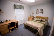 Hesston College Guest House upstairs room