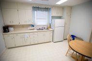 Hesston College Guest House kitchen