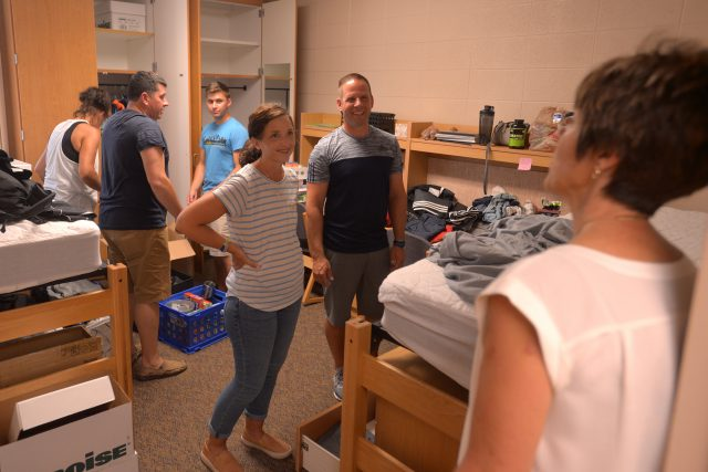 Opening Weekend move in
