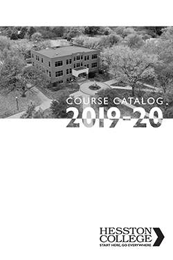 2019-20 Hesston College Course Catalog cover