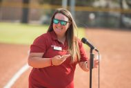 Bess Mullet Softball Field dedication